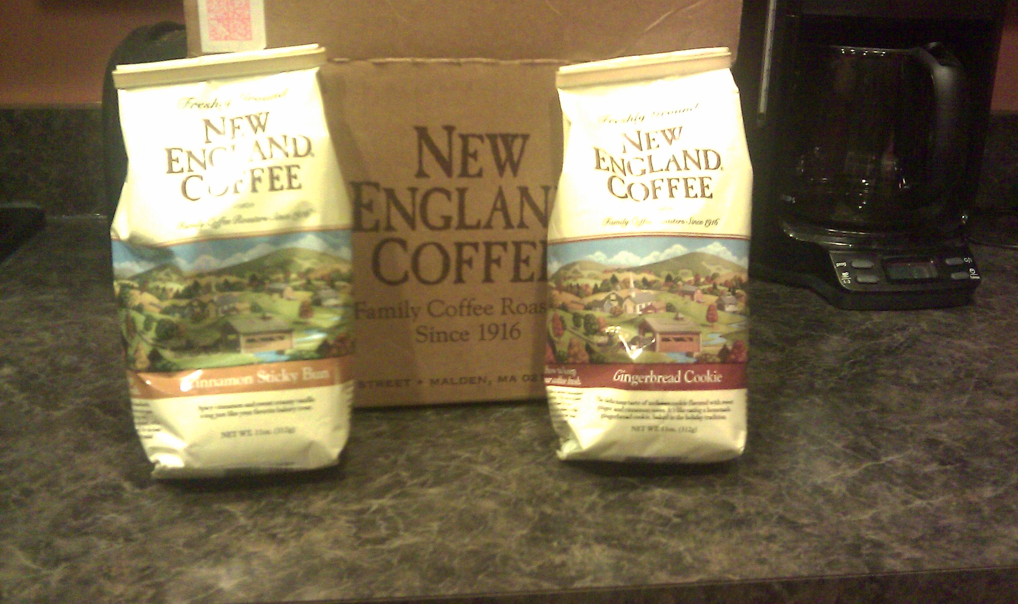 New England Coffee holiday flavors