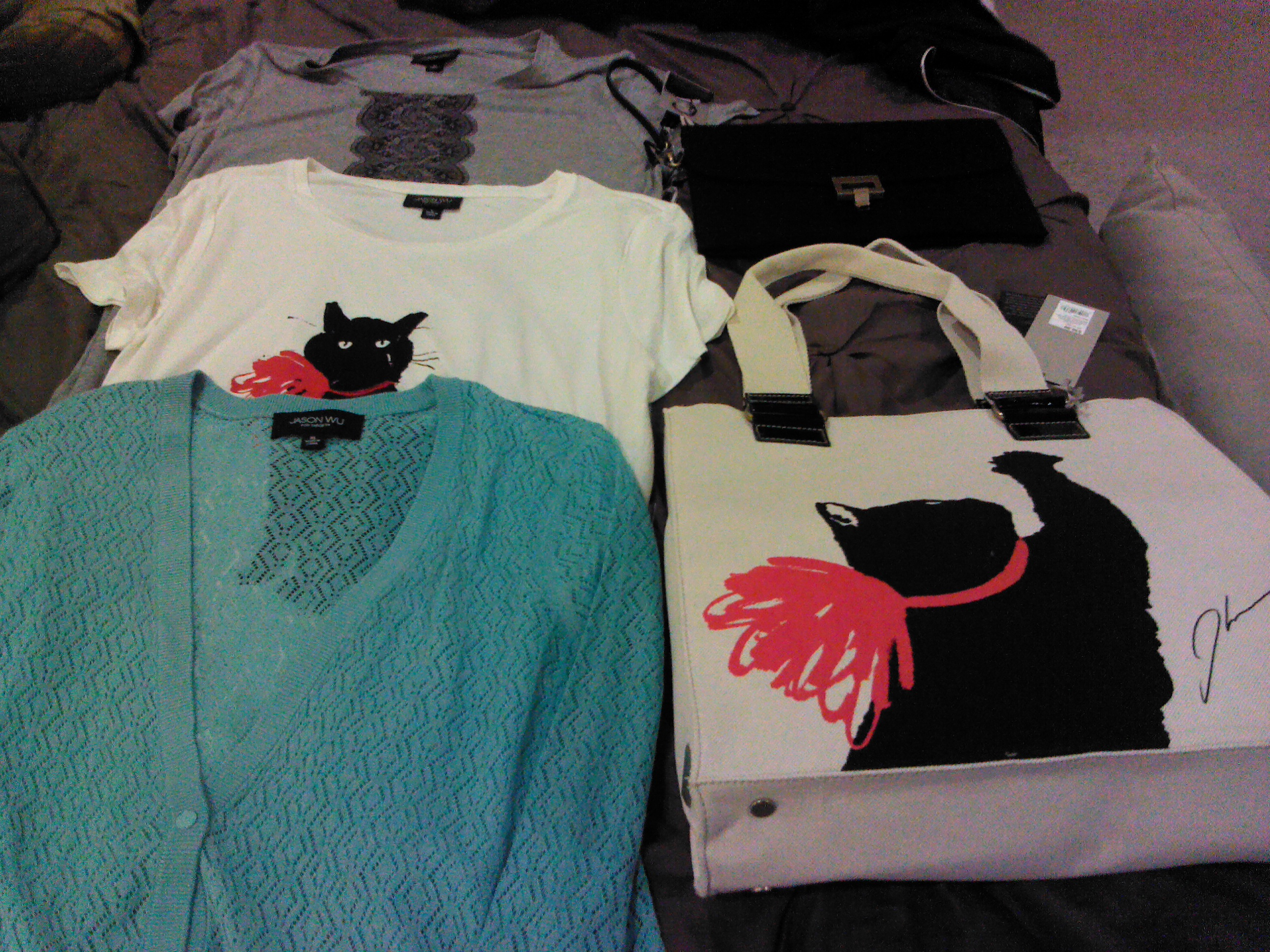 My purchases from the Jason Wu for Target line