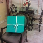 Big, Blue Tiffany Box