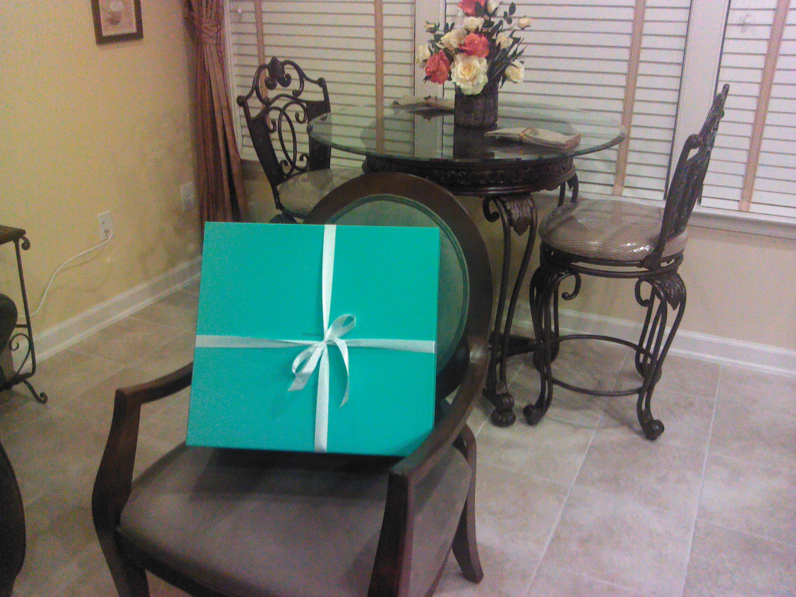 Big, Blue Tiffany Box