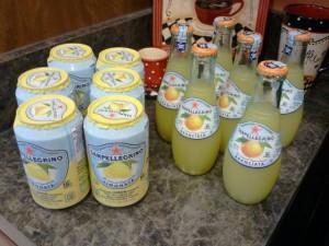 Refreshing SanPellegrino beverages