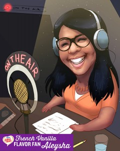 Aleysha on the Air