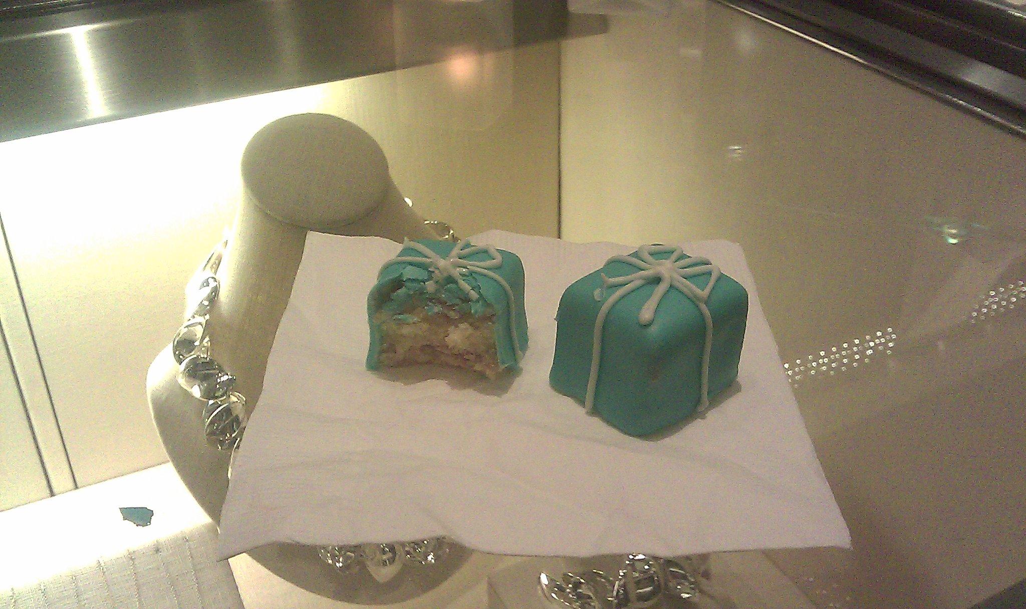 Tiffany s blue box petit fours. Tiffany   Co. desserts dab9a3a41